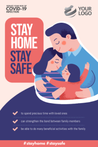 Stay Home Stay Safe Covid-19 Instagram