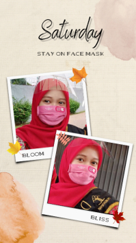 STAY ON FACE MASK История на Instagram template
