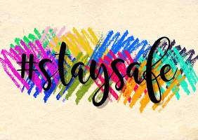 Stay Safe Postcard