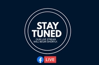 Stay tuned Label template