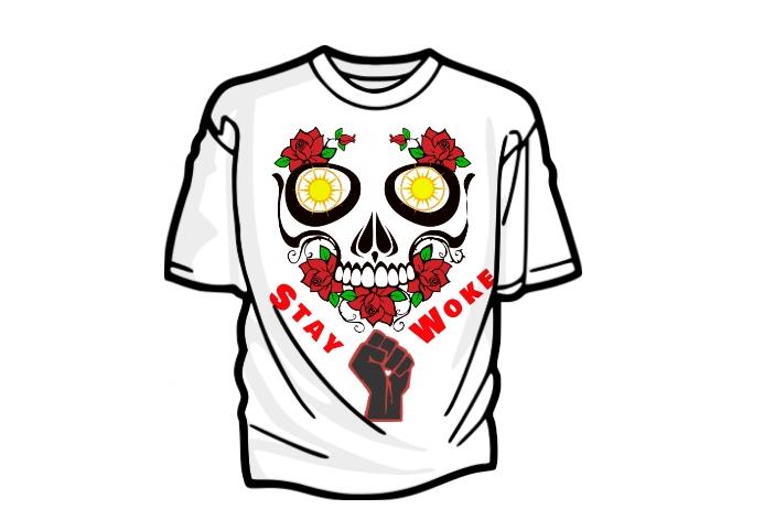 STAY WOKE Tshirt Design