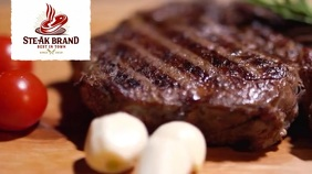 STEAK Digitale display (16:9) template