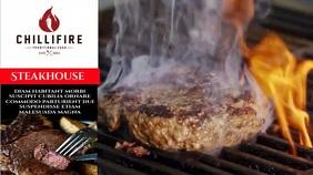 steak house Digital Display (16:9) template