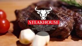 steak house Цифровой дисплей (16 : 9) template