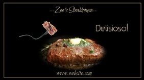 Steak House Digital Display