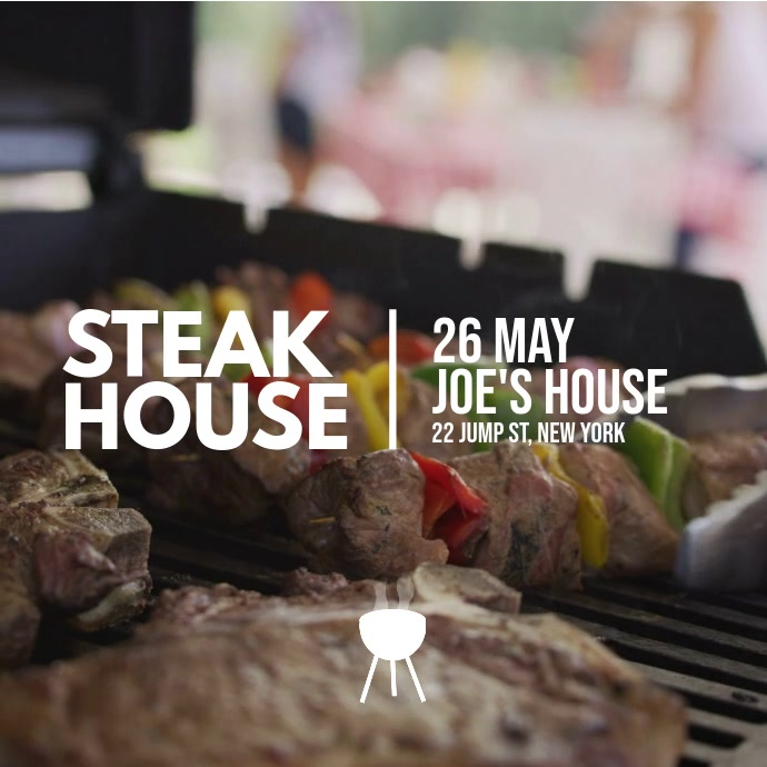 steak house flyer