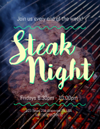 Steak Night Flyer