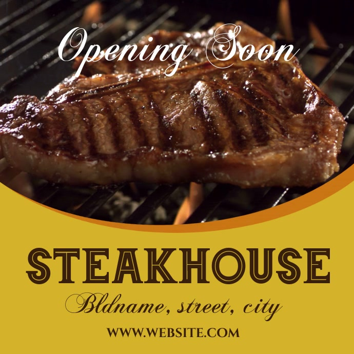 Steakhouse open