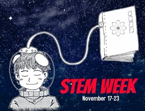 STEAM week flyer template