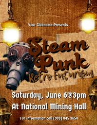 Steampunk Flyer