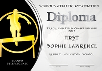 steeplechase diploma first