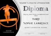 steeplechase diploma third