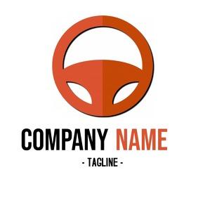 Steering Wheel Car Company Logo