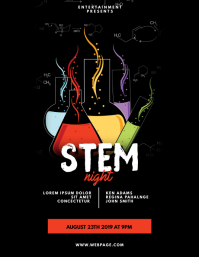 Stem Event Flyer Template