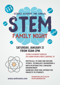 STEM Family Night Flyer Template