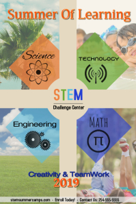 STEM/school/summer camp/science