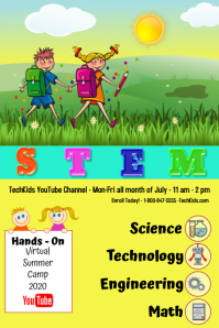 STEM/virtual summer camp/school summer camp