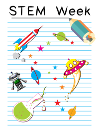 STEM WEEK student flyer