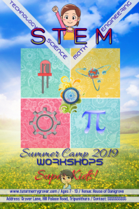 STEM workshops kids/ Science/Math/Technology/Engineering