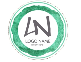 Sticker Template / Badge Template