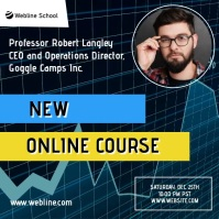 Stock trading crypto online course trade ad Square (1:1) template