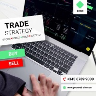 stock trading Pos Instagram template