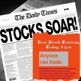 STOCK TRAINING VIDEO AD