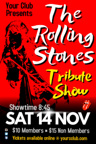 Stones Tribute Poster