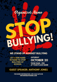 Stop Bullying Flyer