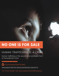 Stop Child Slavery Poster Template