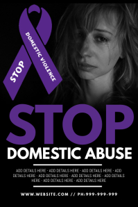 Stop Domestic Abuse Poster