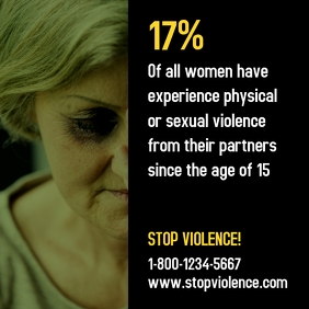 Stop Domestic Violence Against Women Ad