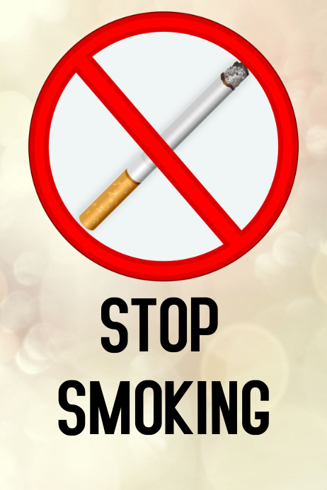Stop Smoking Flyer Template
