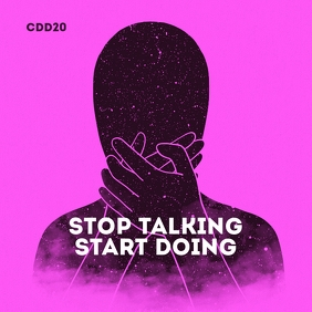 Stop Talking Start Doing Mixtape CD Cover