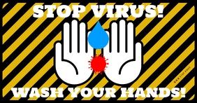 STOP VIRUS BANNER