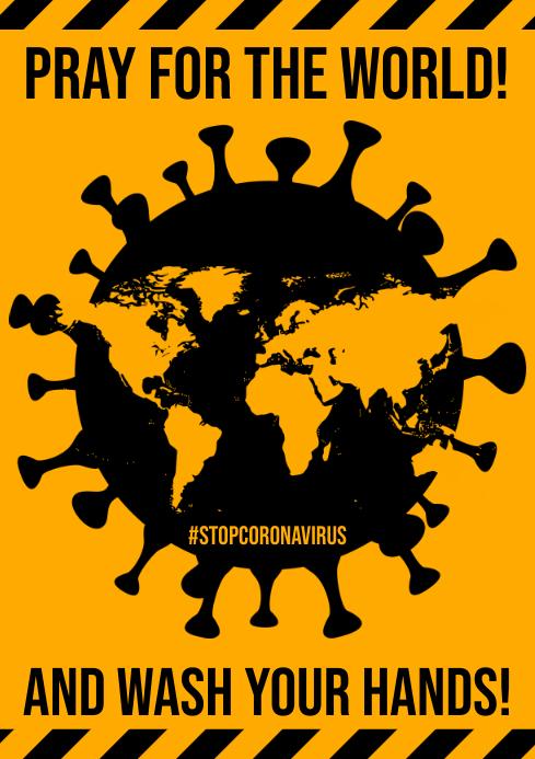 STOP CORONAVIRUS POSTER