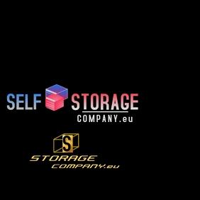 Storage Company Logo template