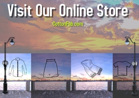 store ad/brand/clothes line/collection/retail