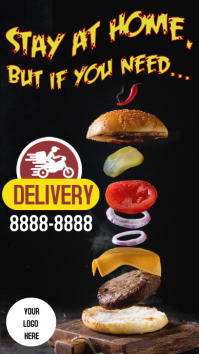 Stores Delivery Hamburger