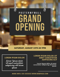 Store Opening Flyer Design Template