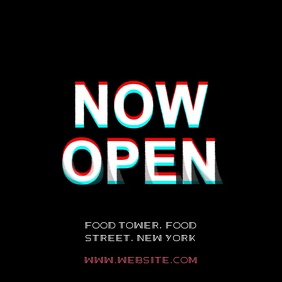 Store shop opening