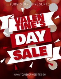 Store Shop Valentine's Day Sale Template
