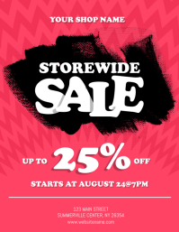 Storewide Sale Flyer