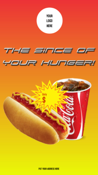 Stories Hot dog with coke