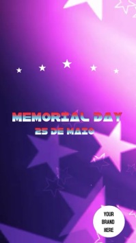 Stories Memorial Day Instagram Story template