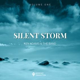 Storm Album Cd Art Cover Template Pochette d'album