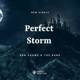 Storm digital soundrack promote template Albumcover