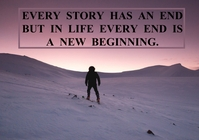 STORY AND BEGINNING QUOTE TEMPLATE A2