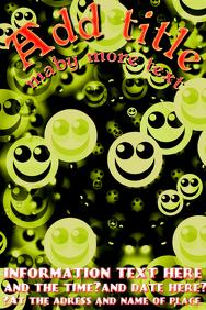 strange happy faces