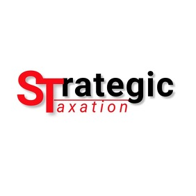 Strategy Taxation Logo template